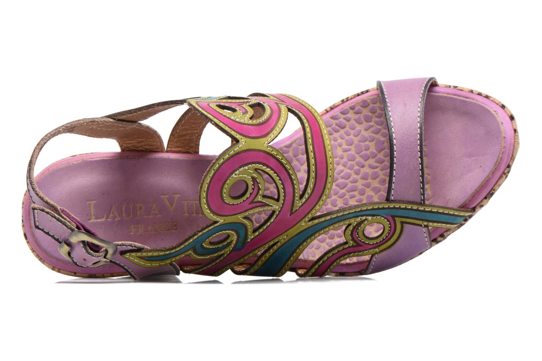 Sandalias Laura Vita Vessa Multicolor vista lateral izquierda