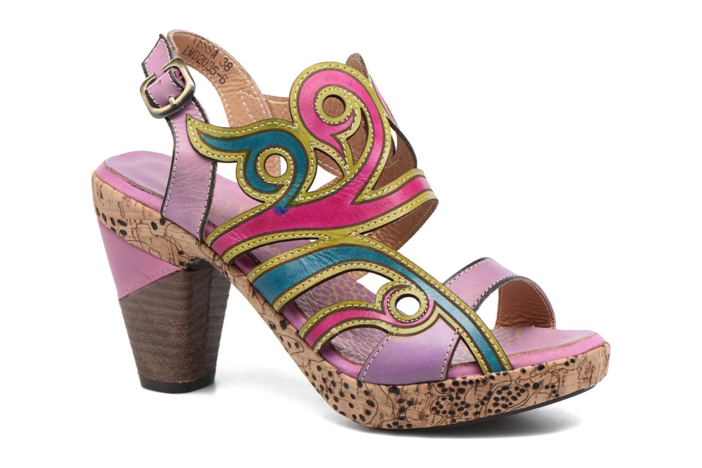 Sandalias Laura Vita Vessa Multicolor vista de detalle / par
