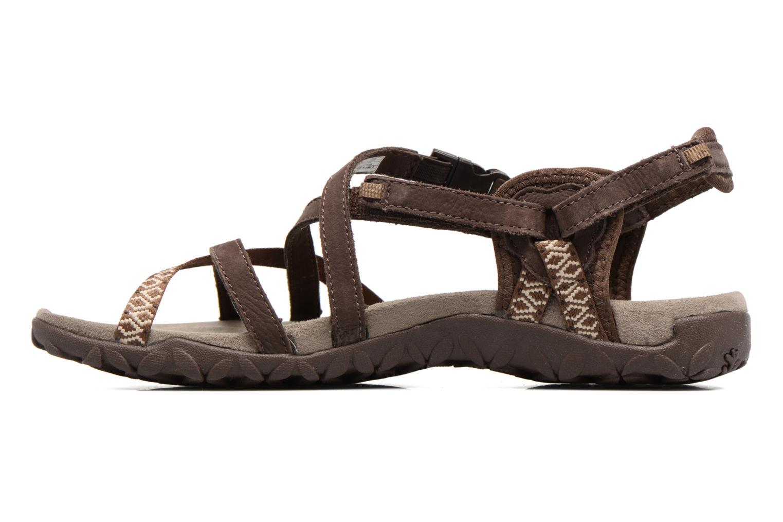 Chaussures de sport Merrell Terran Lattice II Marron vue face
