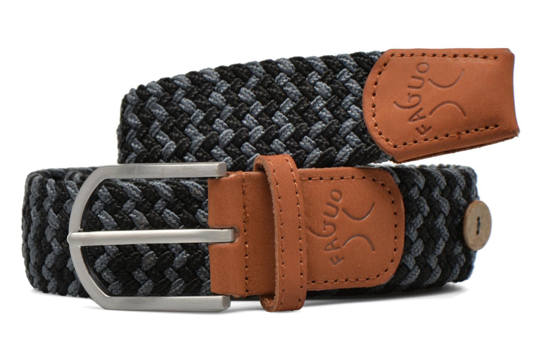 Belts Faguo Ceinture tressée bicolore Grey model view
