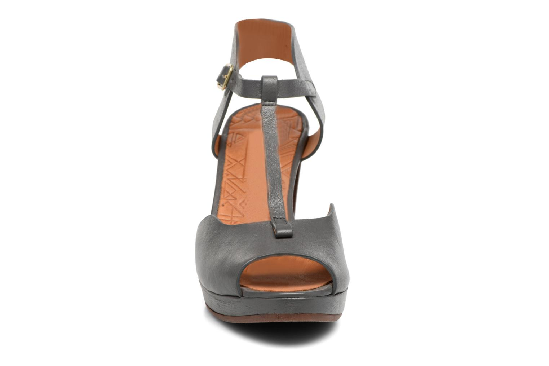 Sandalen Chie Mihara Nissa blau schuhe getragen