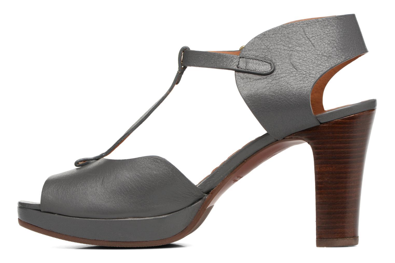Sandalen Chie Mihara Nissa blau ansicht von vorne