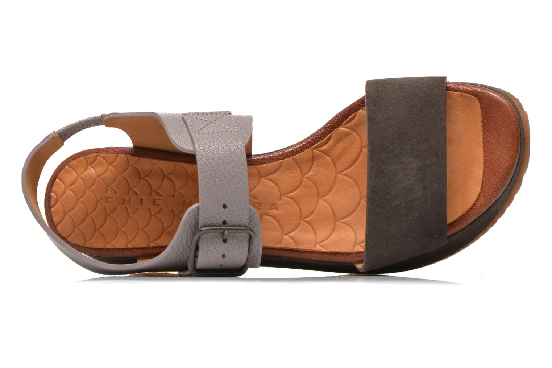 Sandales et nu-pieds Chie Mihara Devagar Gris vue gauche