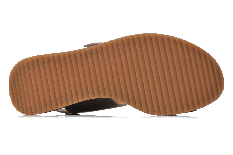 Sandales et nu-pieds Chie Mihara Devagar Gris vue haut