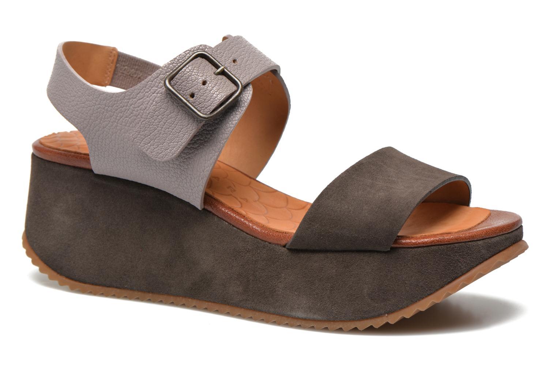 Sandales et nu-pieds Chie Mihara Devagar Gris vue détail/paire