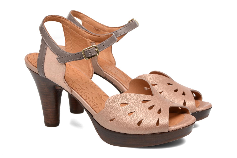 Sandals Chie Mihara Loha Brown 3/4 view