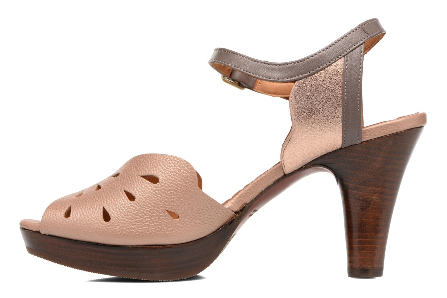 Sandals Chie Mihara Loha Brown front view