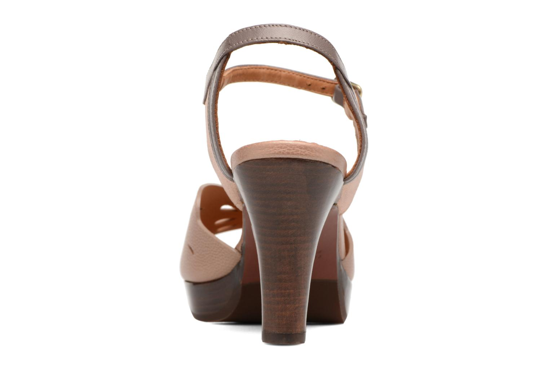 Sandalen Chie Mihara Loha braun ansicht von rechts