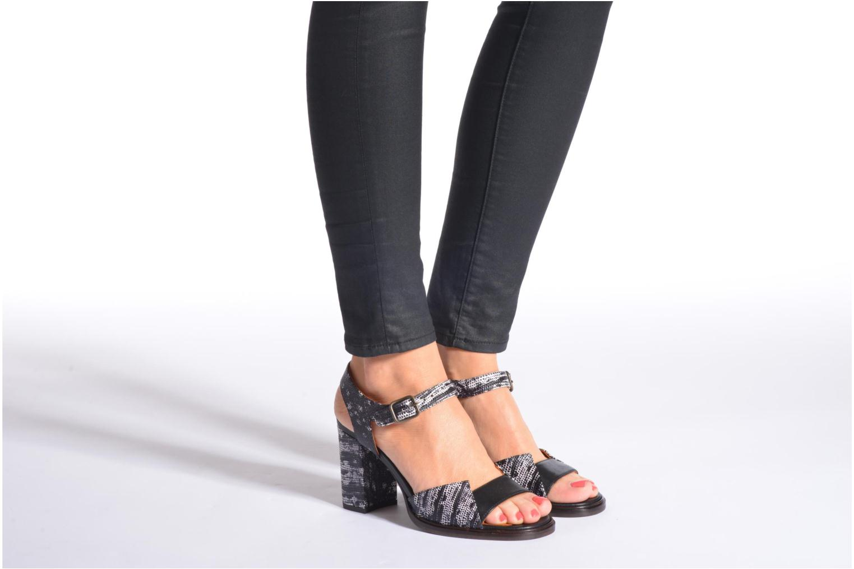 Sandales et nu-pieds Chie Mihara Ulisa Multicolore vue bas / vue portée sac