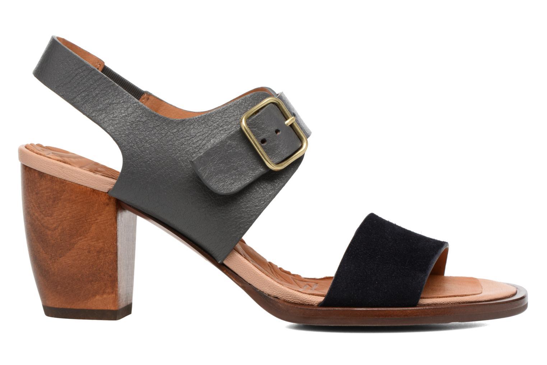 Sandalen Chie Mihara Queva blau ansicht von hinten