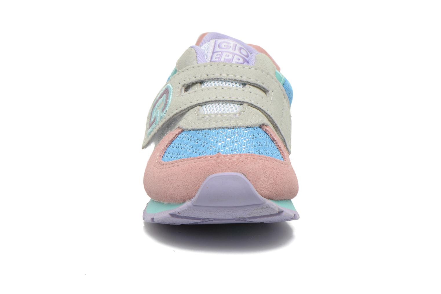 Baskets Gioseppo Sunya Multicolore vue portées chaussures