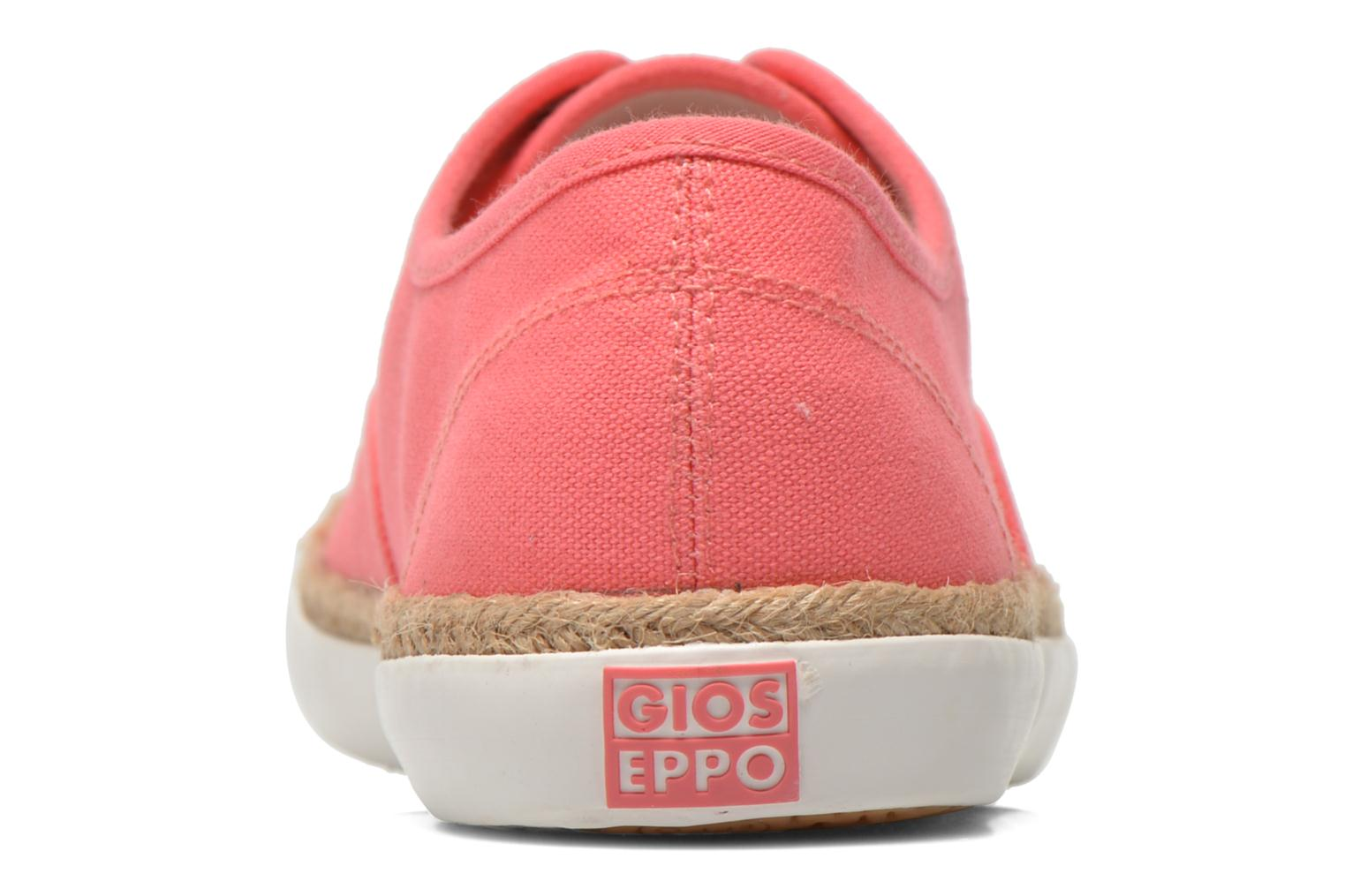 Trainers Gioseppo Mima Pink view from the right