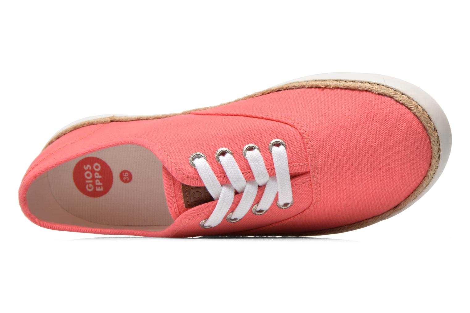 Trainers Gioseppo Mima Pink view from the left
