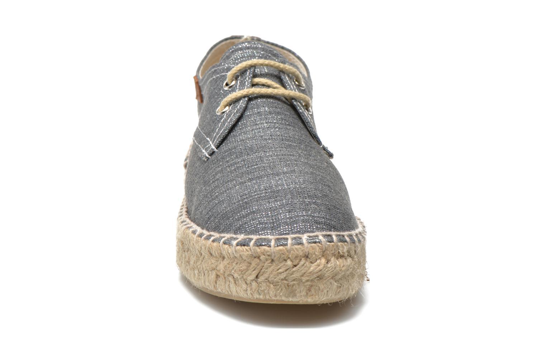 Espadrilles Gioseppo Jaquita Argent vue portées chaussures