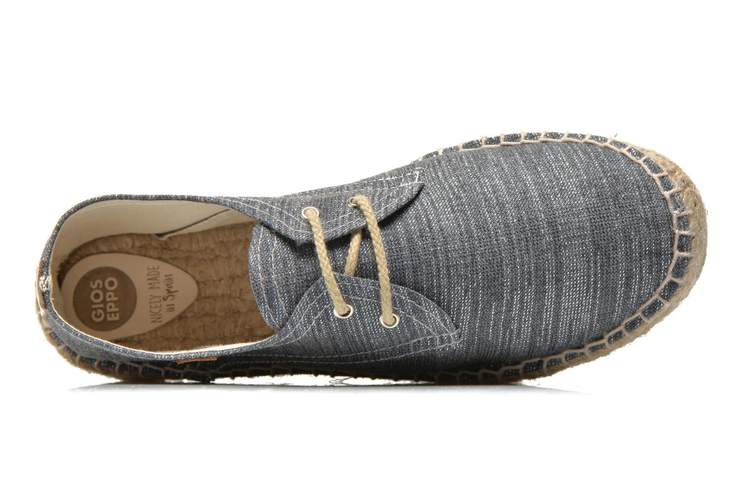 Espadrilles Gioseppo Jaquita Silver view from the left