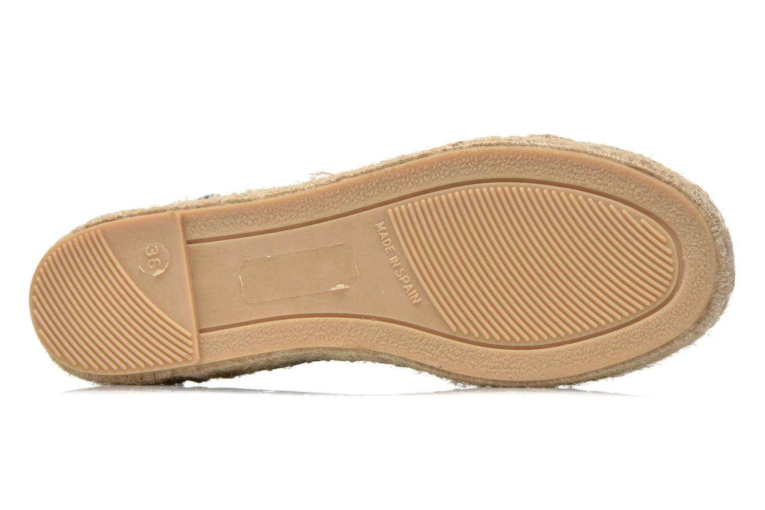 Espadrilles Gioseppo Jaquita Silver view from above