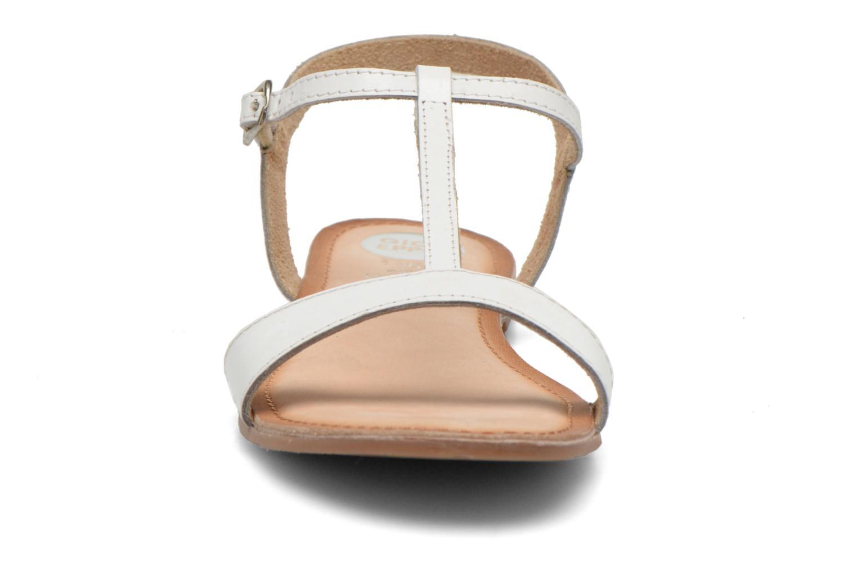 Sandales et nu-pieds Gioseppo Govindi Blanc vue portées chaussures