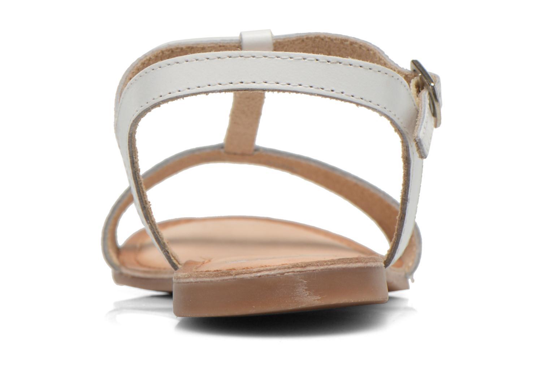 Sandales et nu-pieds Gioseppo Govindi Blanc vue droite