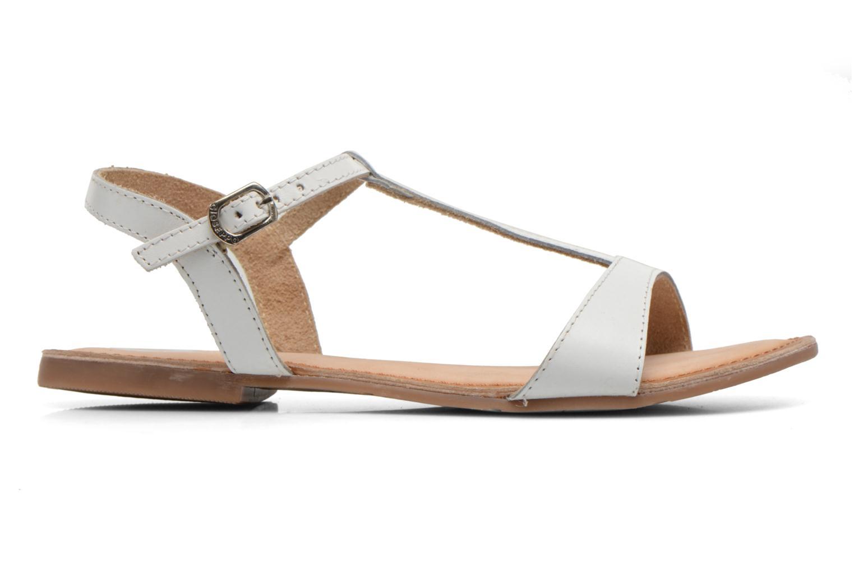 Sandales et nu-pieds Gioseppo Govindi Blanc vue derrière