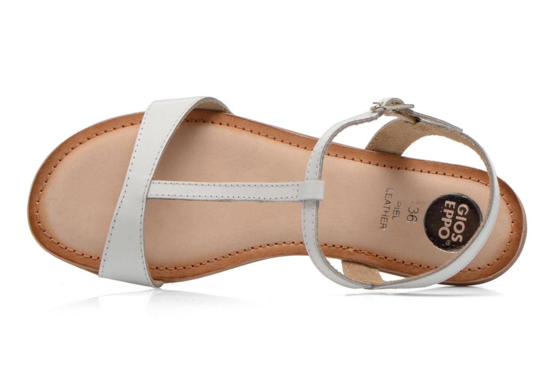 Sandales et nu-pieds Gioseppo Govindi Blanc vue gauche
