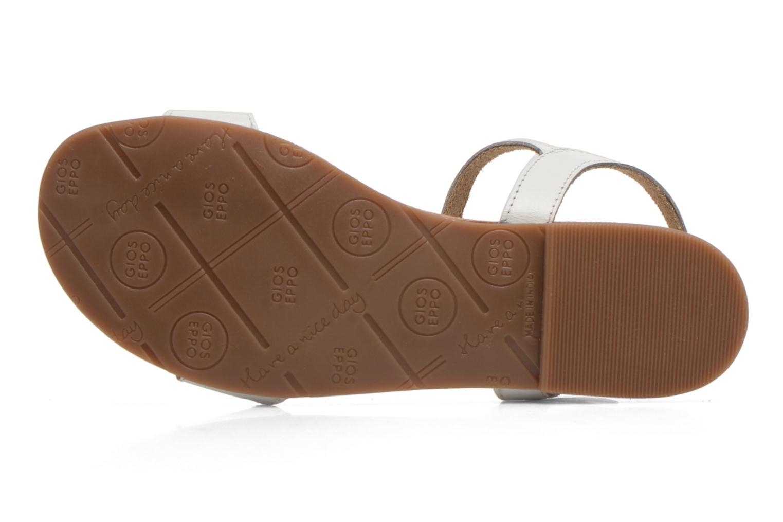 Sandales et nu-pieds Gioseppo Govindi Blanc vue haut