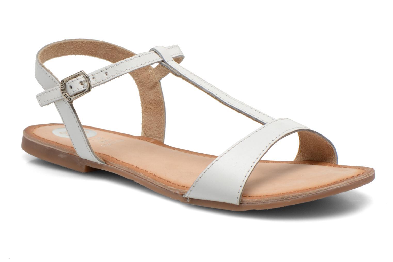 Sandales et nu-pieds Gioseppo Govindi Blanc vue détail/paire
