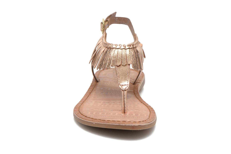 Sandales et nu-pieds Gioseppo Lea Rose vue portées chaussures