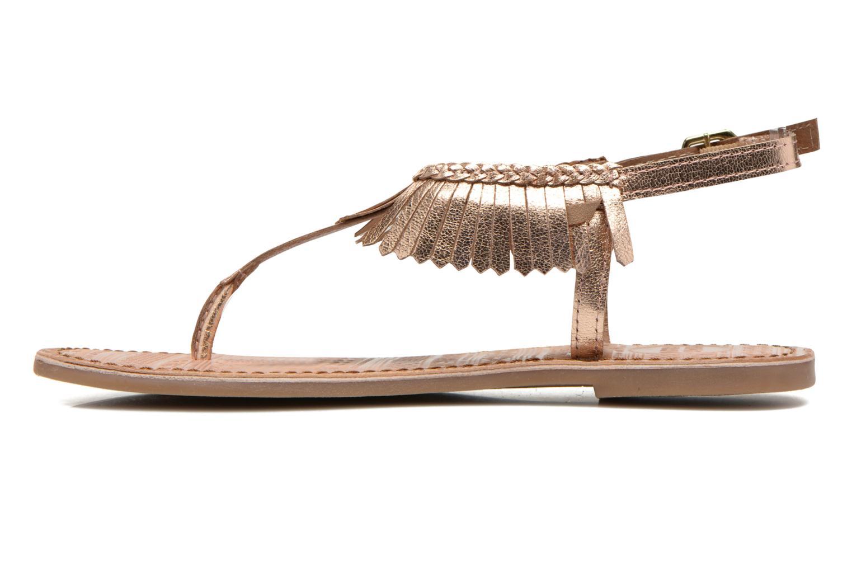 Sandales et nu-pieds Gioseppo Lea Rose vue face