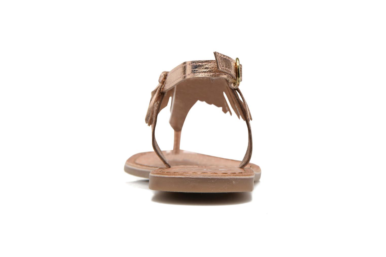 Sandales et nu-pieds Gioseppo Lea Rose vue droite