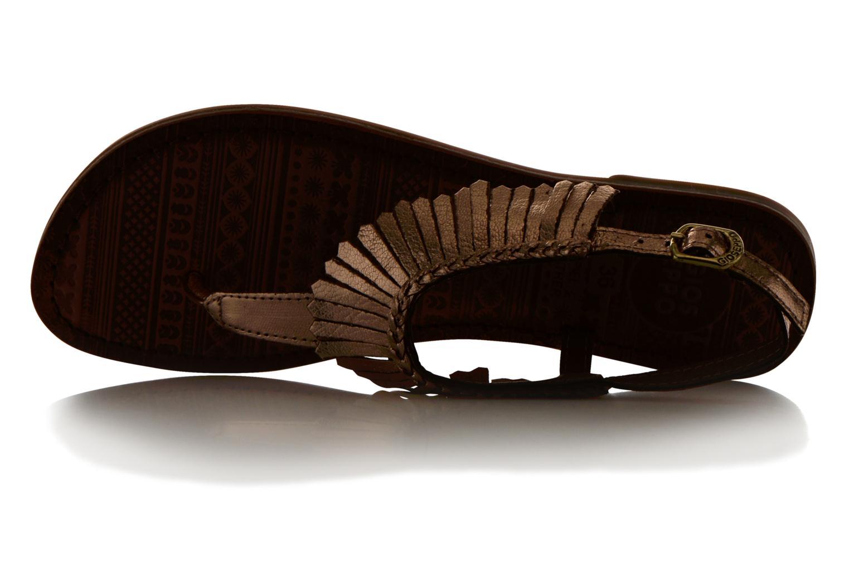 Sandales et nu-pieds Gioseppo Lea Rose vue gauche