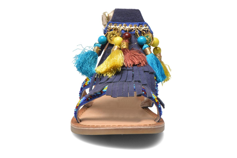 Sandalen Gioseppo Dima blau schuhe getragen
