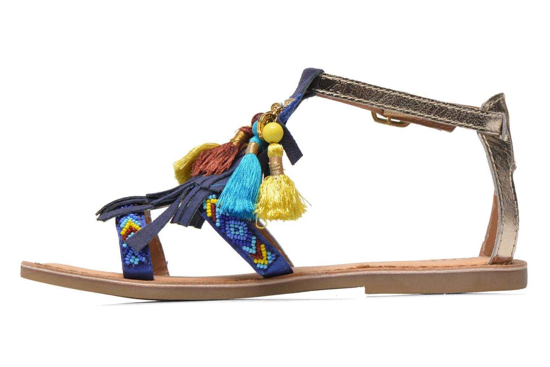 Sandalen Gioseppo Dima blau ansicht von vorne