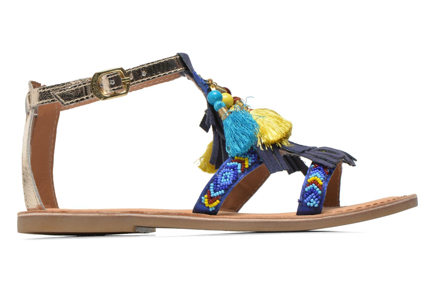 Sandals Gioseppo Dima Blue back view