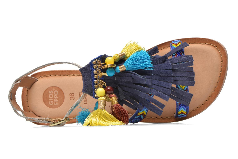 Sandalen Gioseppo Dima blau ansicht von links