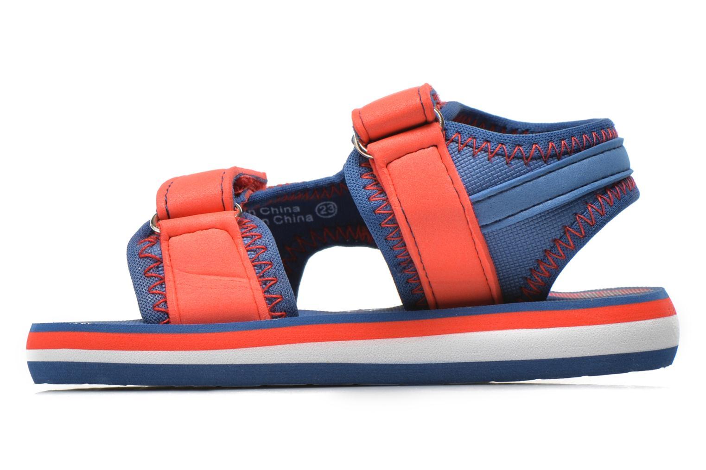 Sandales et nu-pieds Gioseppo Flete Bleu vue face