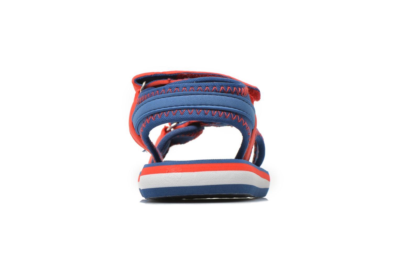Sandales et nu-pieds Gioseppo Flete Bleu vue droite