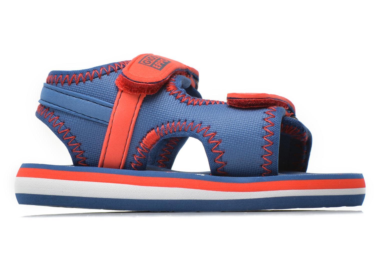 Sandales et nu-pieds Gioseppo Flete Bleu vue derrière