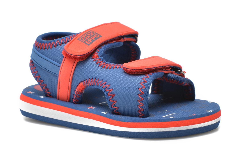 Sandales et nu-pieds Gioseppo Flete Bleu vue détail/paire