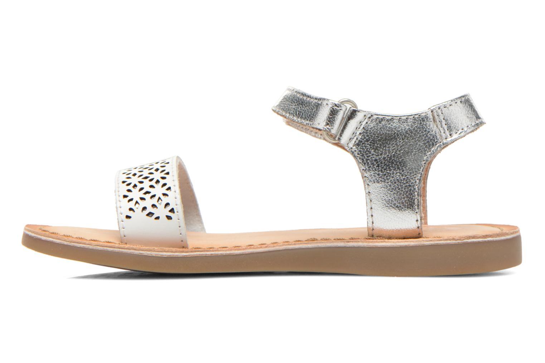 Sandales et nu-pieds Gioseppo Madona Blanc vue face