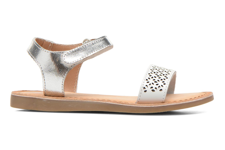Sandales et nu-pieds Gioseppo Madona Blanc vue derrière