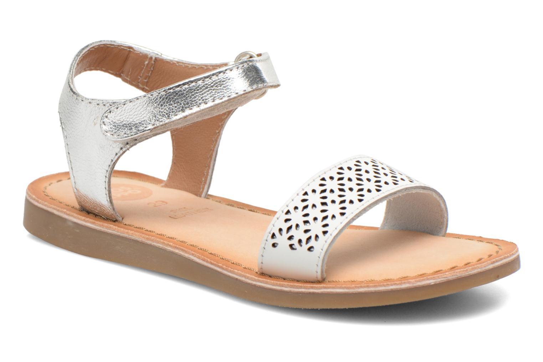 Sandales et nu-pieds Gioseppo Madona Blanc vue détail/paire