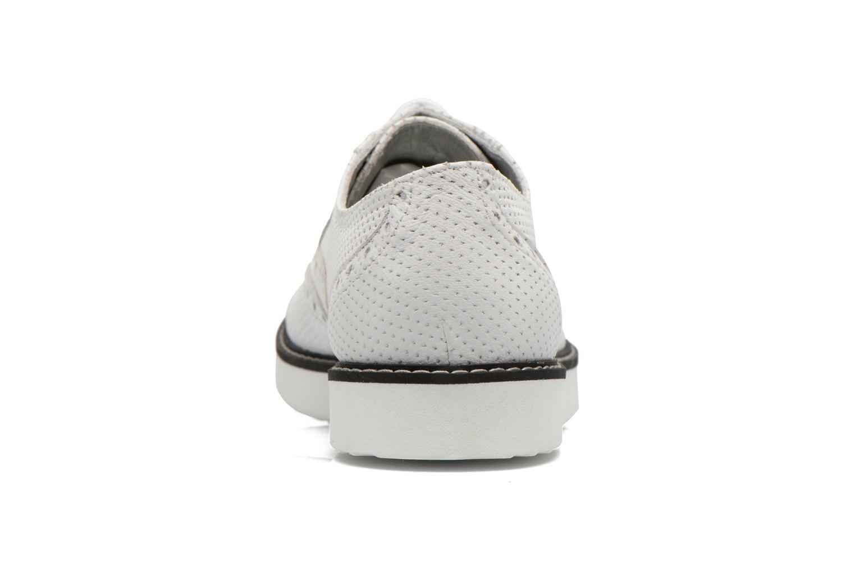 Chaussures à lacets Ippon Vintage Andy k perfo Blanc vue droite