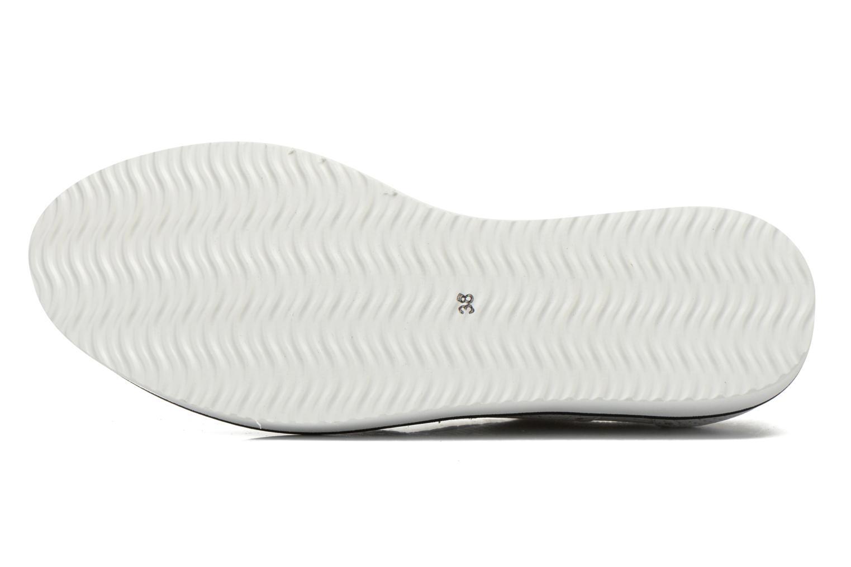 Chaussures à lacets Ippon Vintage Andy k perfo Blanc vue haut