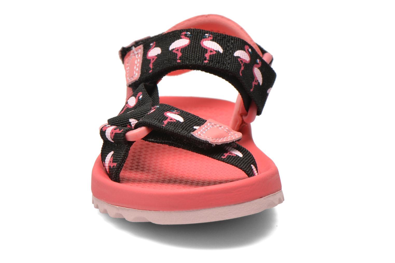 Sandalen Clarks Bondi Bay rosa schuhe getragen