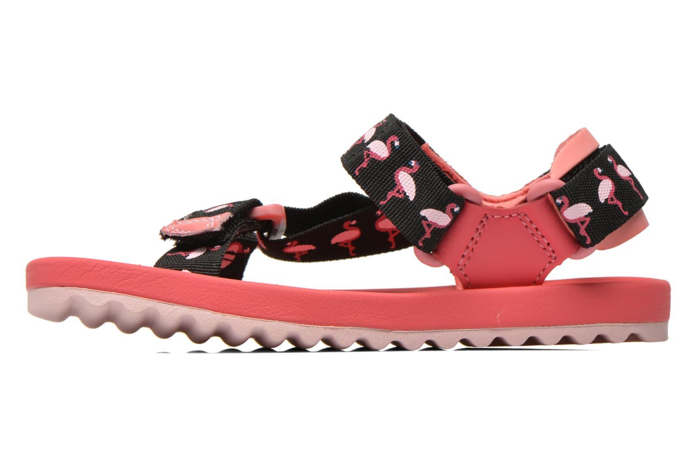 Sandalen Clarks Bondi Bay rosa ansicht von vorne