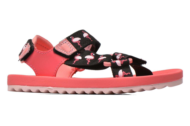 Sandalen Clarks Bondi Bay rosa ansicht von hinten