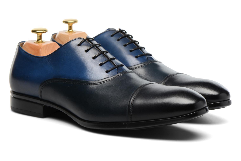 Chaussures à lacets Doucal's Omar short Noir vue 3/4