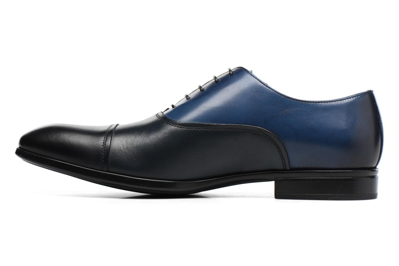 Chaussures à lacets Doucal's Omar short Noir vue face