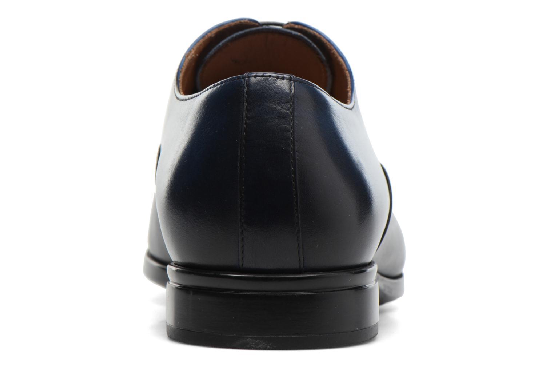 Snörade skor Doucal's Omar short Svart Bild från höger sidan