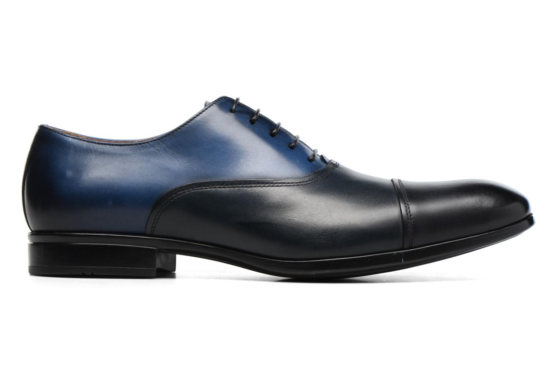 Snörade skor Doucal's Omar short Svart bild från baksidan